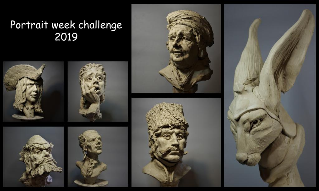 Resultaten van portrait week 2019